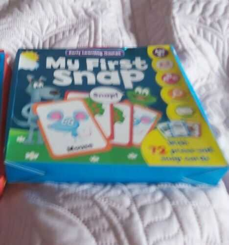 New My first snap    game age 3+