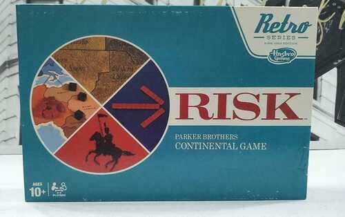 retro series 1968 edition risk board game 2014