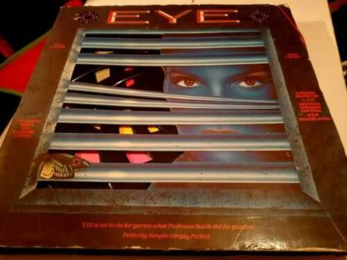Eye Board Game 1987 Skill Strategy - Finger Products Paradigm Games